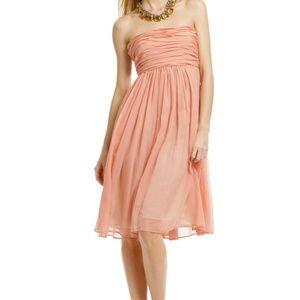 See by Chloe silk strapless dress